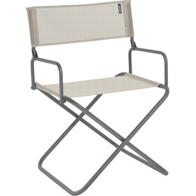 Lafuma Mobilier FGX XL Director´s Chair with Arm Rest with Cannage Phifertex, seigle